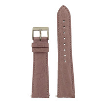 Genuine Crocodile Pink Watch Band