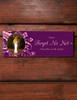 Flower Accents Photo Frame Acrylic Horse Stall Name Plate
