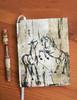 Rearing Horses Designer Hardbound Journal