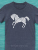 I was Normal Three Horses Ago Equestrian Adult T-Shirt
