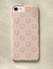 Classic Horse Shoe Pattern Phone Case