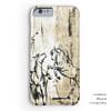 Rustic Rearing Horses Phone Case