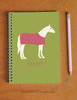 Equestrian Hugs and Kisses Pony Notebook