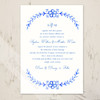 Watercolor Country Floral Wedding Invitation (10 pk)