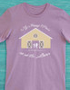 My Happy Place is at The Barn Equestrian T-Shirt
