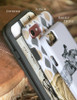 Fancy Stitch Horse Bridle Pattern Equestrian Phone Case