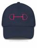 Custom Snaffle Horse Bit Equestrian Emroidered Hat