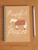Pumpkin Spice and Ponies Spiral Notebook