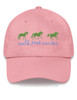 Walk Trot Canter Equestrian Emroidered Hat