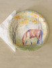 Fall Horse Art Thanksgiving Paper Party Plates (8 pk)