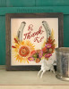 Be Thank-ful Fall Horse Shoe Art Watercolor Art Print