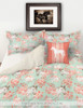 Rose Bouquets and Horses Equestrian Bedding Set