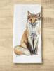Mr & Mrs Bohemian Foxes Equestrian Tea Towel