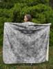 Dappled Gray Horse Coat Pattern Sherpa Fleece Throw Blanket
