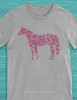 Floral Horse Lover T-Shirt