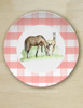 "Whimsical Easter Foals Equestrian 10"" Dinner Plate"