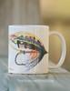 Salmon Fly Fishing Lure Coffee Mug