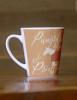 Pumpkin Spice and Ponies Equestrian Latte Coffee Mug