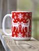 Winter Nordic Horse Lover Equestrian Coffee Mug