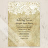Rustic Southern Country Queen Ann's Lace Floral Wedding Invitation