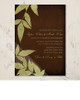 Distressed Fall Leaves Wedding Invitation (10 pk)