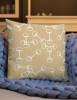 Horse Bits Pattern Throw Pillow