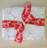 Horse Bits Equestrian Gift Wrapping Paper