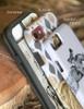 Diagonal Horse Bit Pattern Equestrian Phone Case