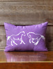 Galloping Horses Accent Pillow