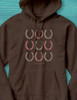 Equestrian For Life Horse Shoes Hoodie