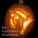 Pumpkin Carving with Equestrian Style