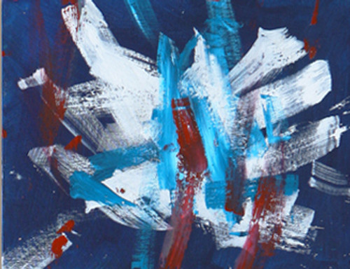 Freedom's Dream - Acrylic Abtract Painting