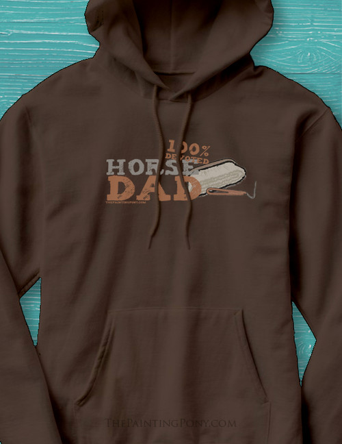 Horse Dad or Horse Husband Adult Hoodie
