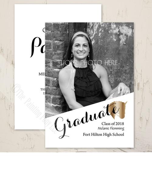 Horse Head Graduate High School or College Graduation Party Invitations.