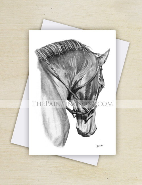Horse Head in Collection Equestrian Note Cards (10 pk)
