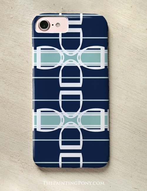 Horse Stirrups Pattern Phone Case