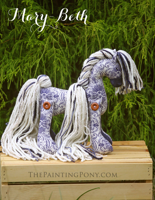 SOLD Flopsy Cotton Pony Mary-Beth