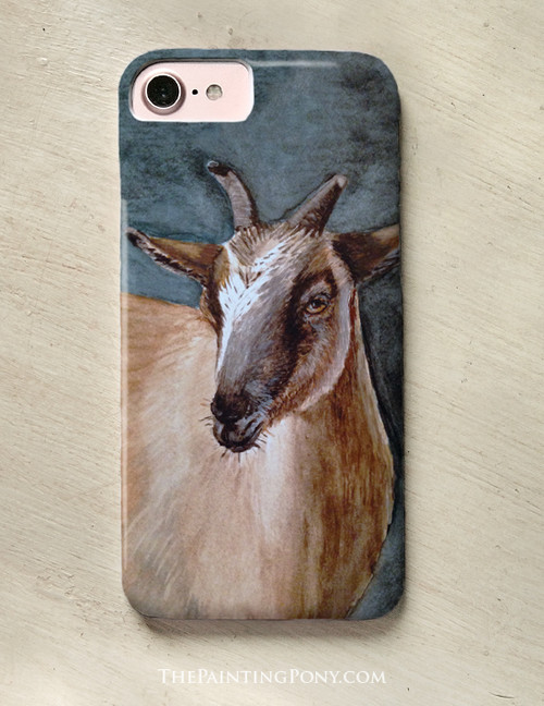 Cute Pygmy Goat Lover Phone Case