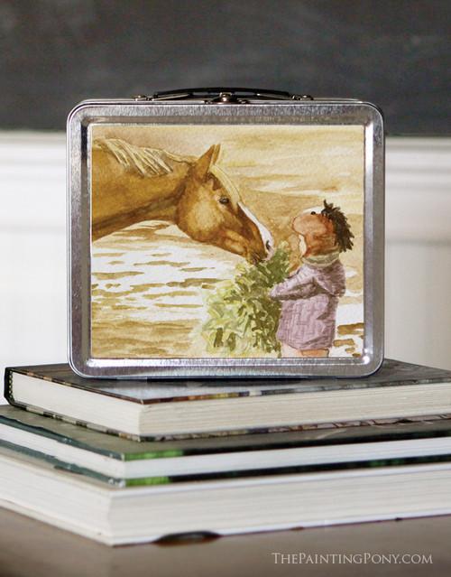 Morning Hay Pony Lunch Box