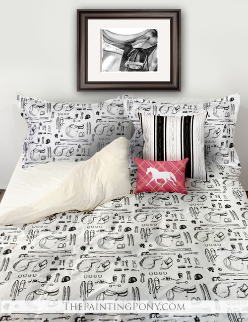 Horse Show Essentials Equestrian Bedding Set