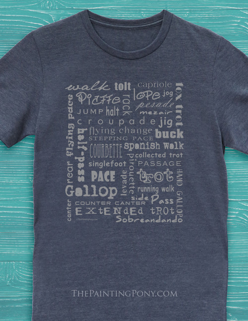 cae272740 My Happy Place is at The Barn Equestrian T-Shirt - The Painting Pony