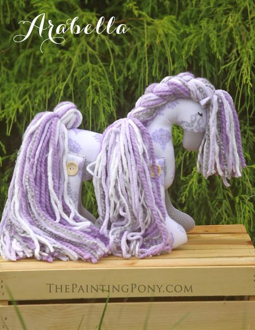 """Flopsy Cotton Pony """"Arabella"""""""