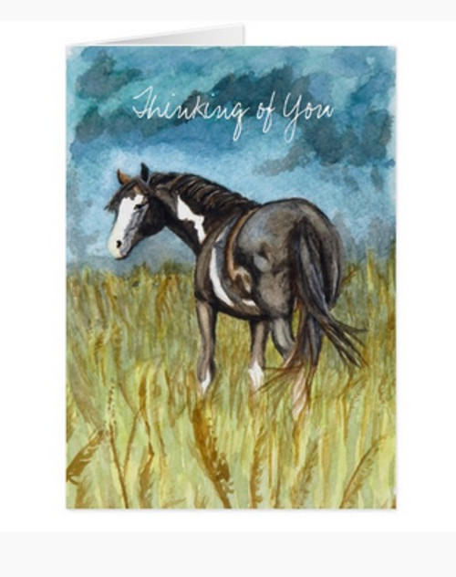 Thinking of your equestrian card