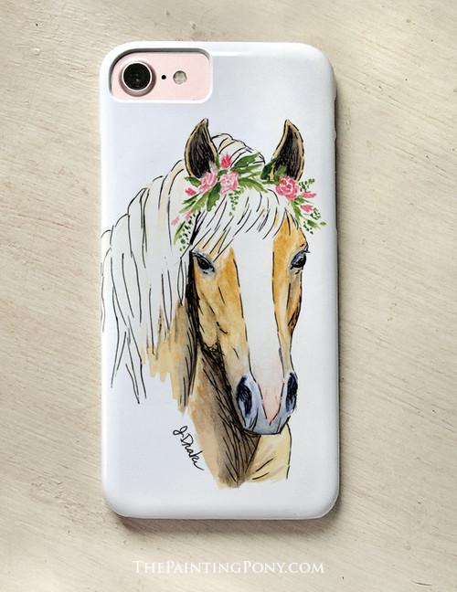 Haflinger Horse Lover Phone Case