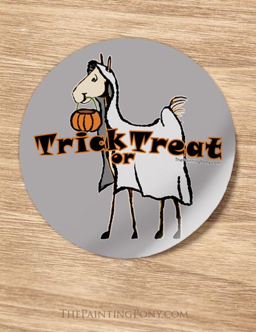 Halloween Horse Lover Stickers