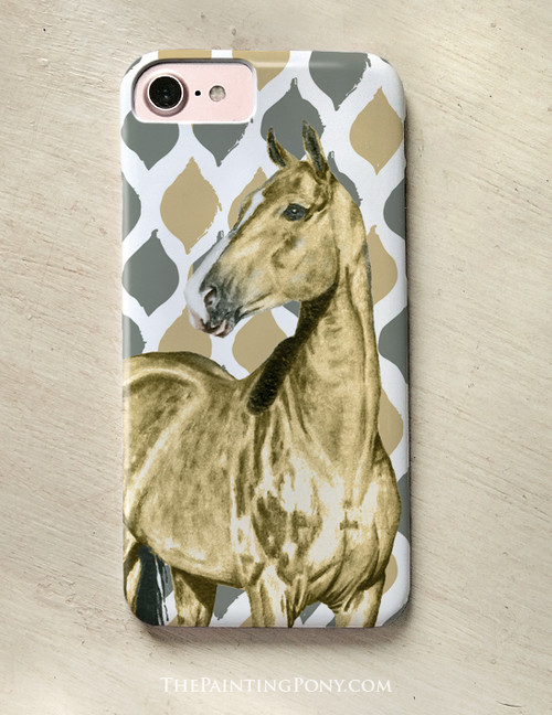 Akhal-teke Horse Phone Case