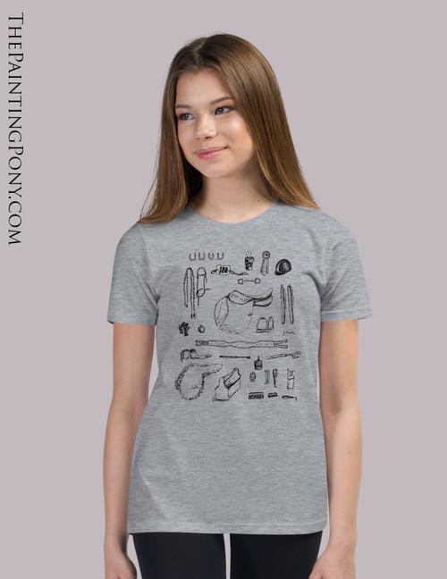 Horse Show Essentials Equestrian Youth T-Shirt