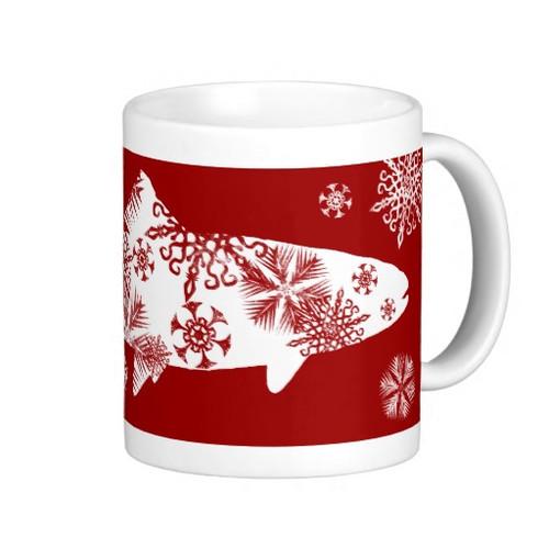 Snowflake Trout 11oz Mug