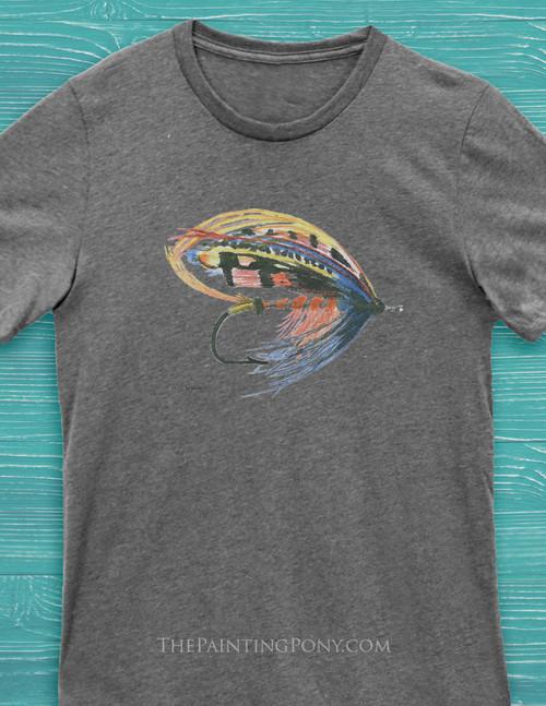 Classic Salmon Fly Ultra Cotton T-Shirt