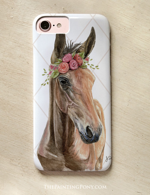 Bohemian Horse Head Phone Case